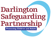 Darlington Safe Guarding Partnership Logo - link to home page